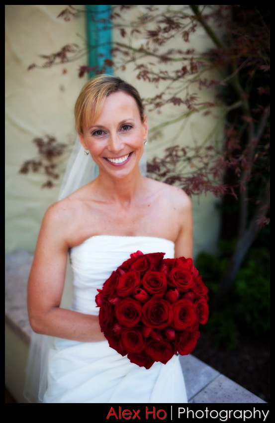 bride bouquet shot wedding orinda country club