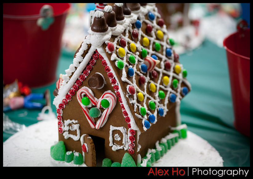 candy chocolate Gingerbread Houses for Christmas!