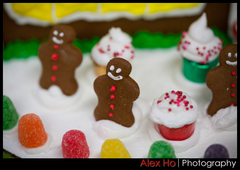 gingerbreadmen Gingerbread Houses for Christmas!