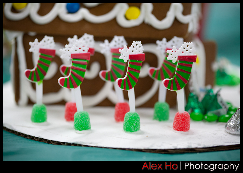 stockings Gingerbread Houses for Christmas!