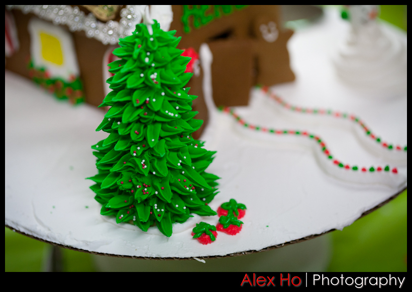 xmastree Gingerbread Houses for Christmas!