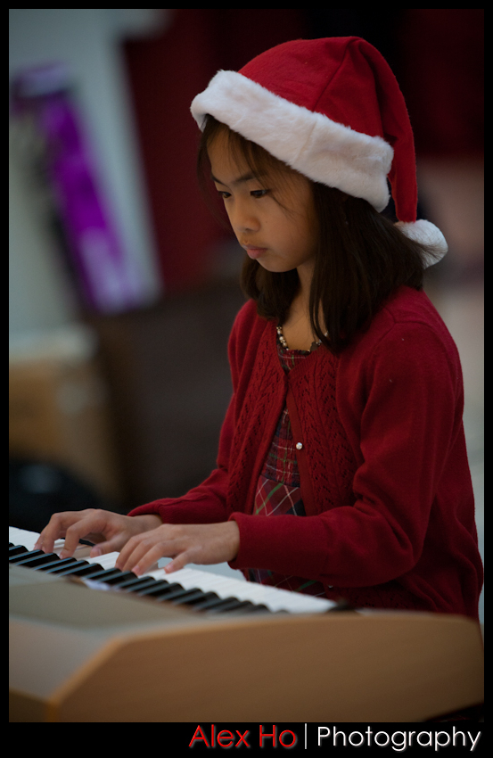 piano recital mall Christmas Piano Recital