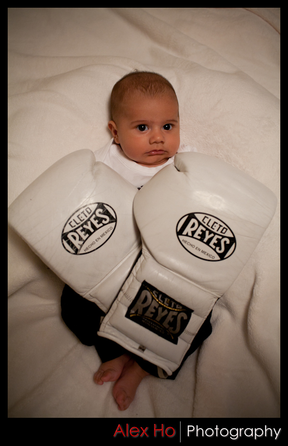 boxing baby boy