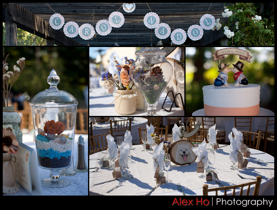 fortino wedding collage