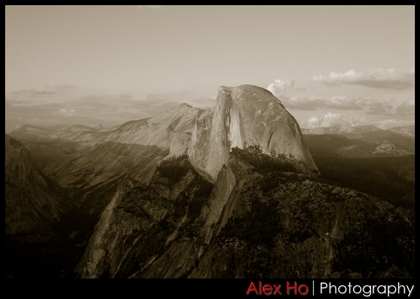 halfdome tint Yosemite