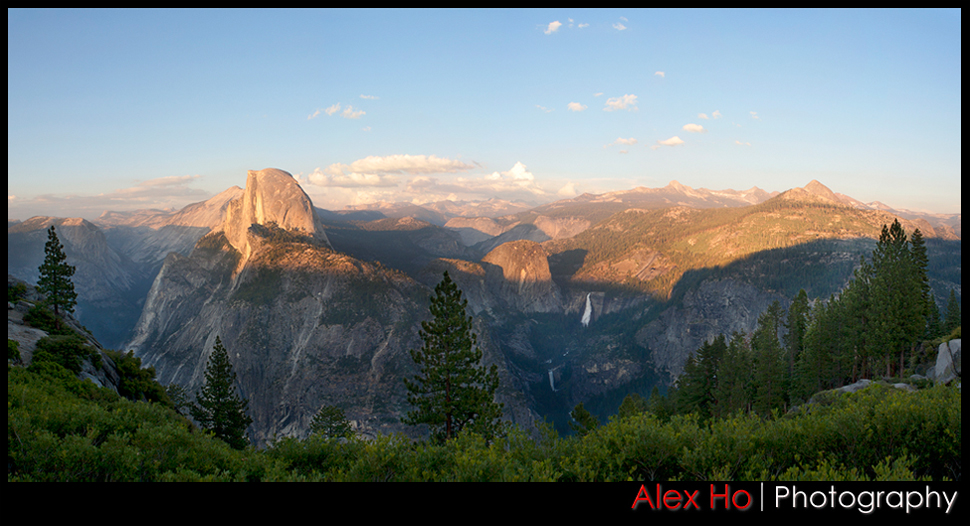 yosemite panaramic view panarama
