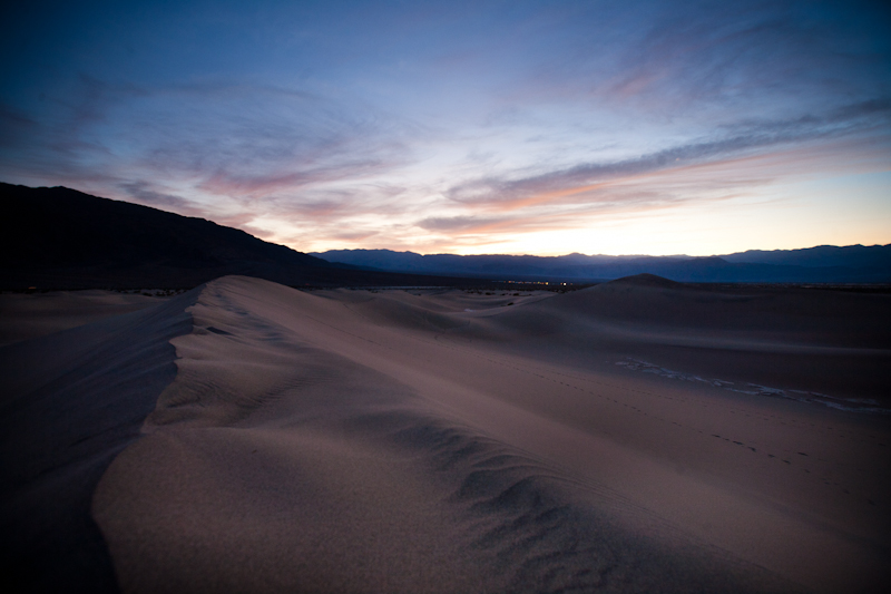 sand dunes death valley