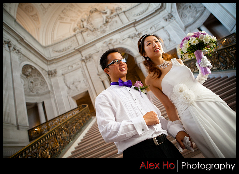 sf city hall ceremony wedding