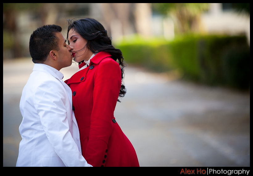 kiss Angelica and Jose Engagement Session