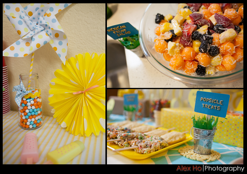party dessert cake pastries snacks decorated pretty sunshine theme
