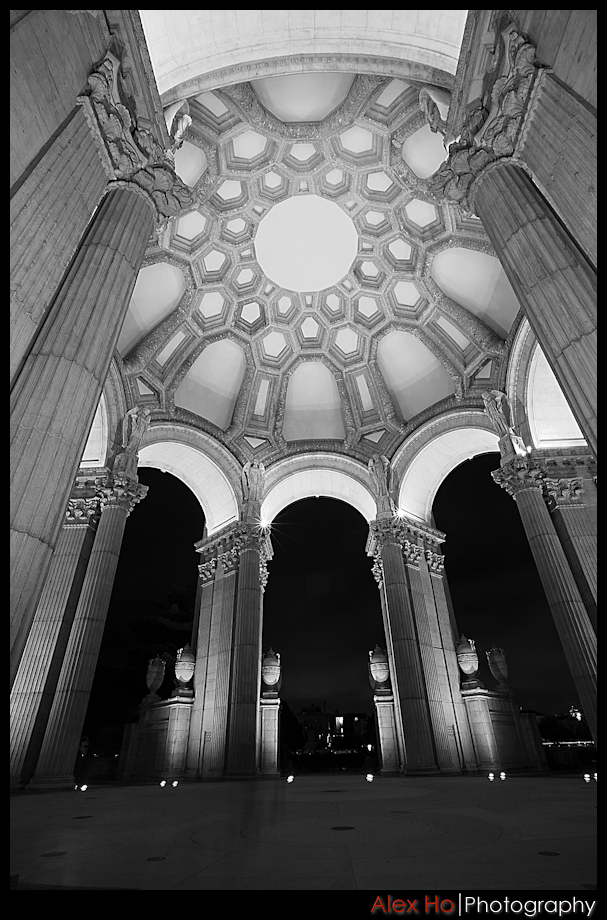 palace of fine arts san francisco ceiling