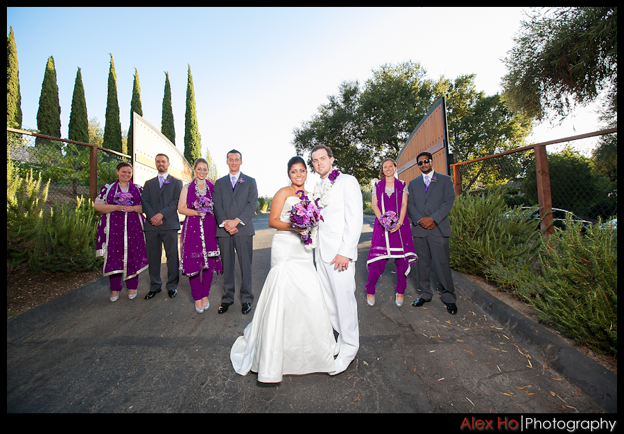 bella montagna bridal party