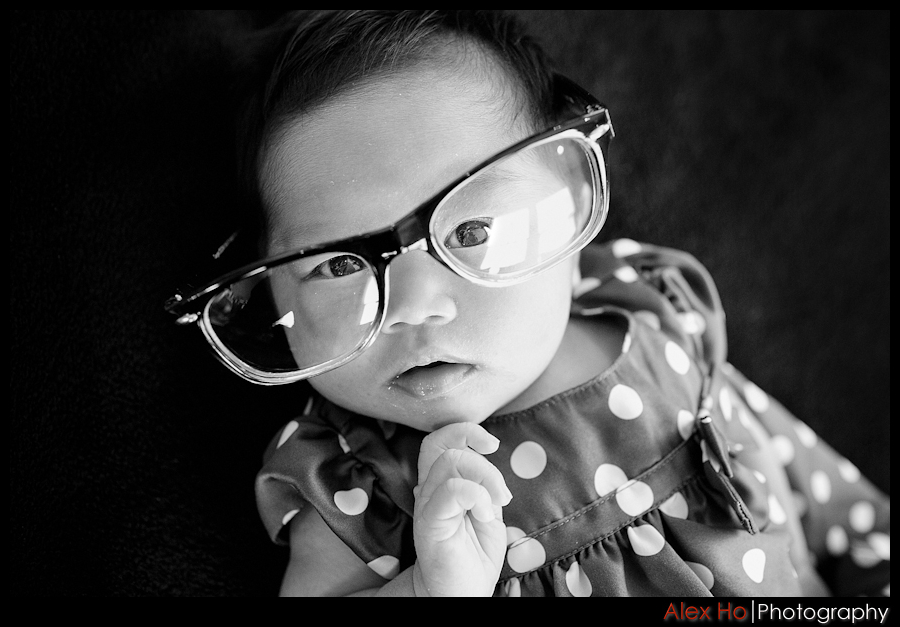 baby glasses portraits