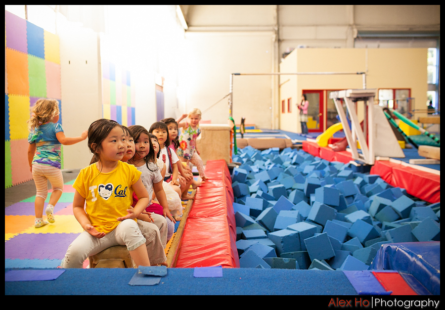 gym foam pit