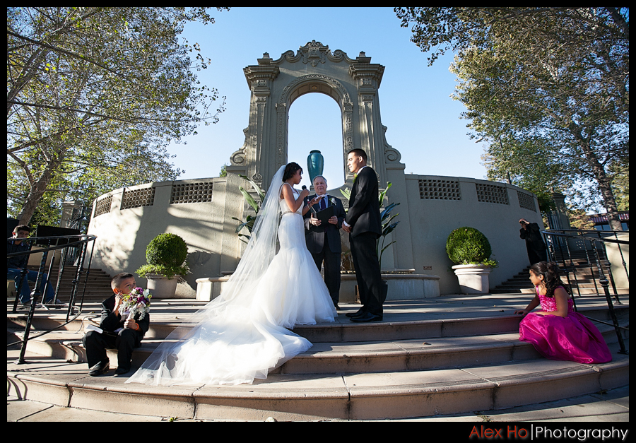piedmont oakland wedding ceremony