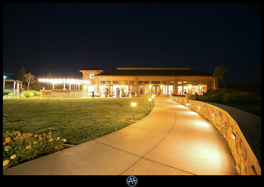 boulder ridge golf club san jose pavilion event center evening shot