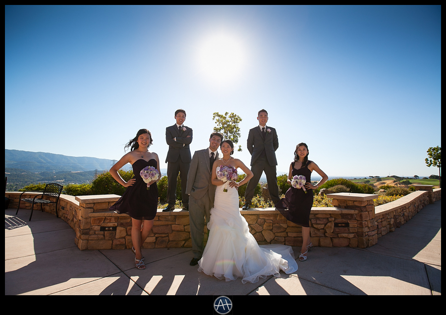 boulder ridge wedding party