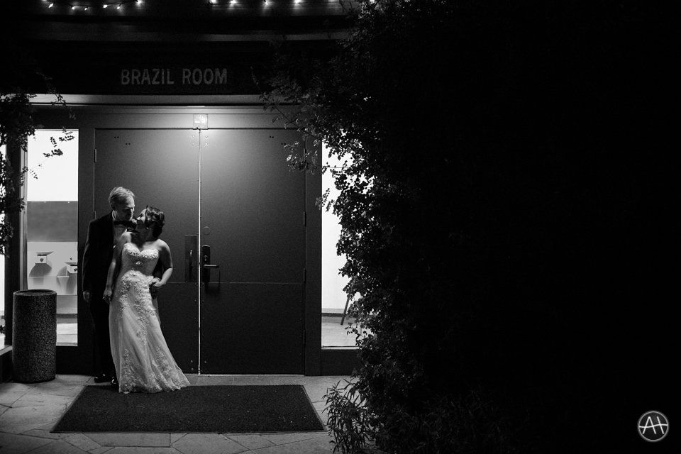 berkeley brazilian room wedding evening