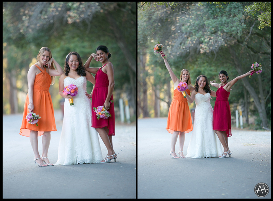 berkeley bridesmaids wedding