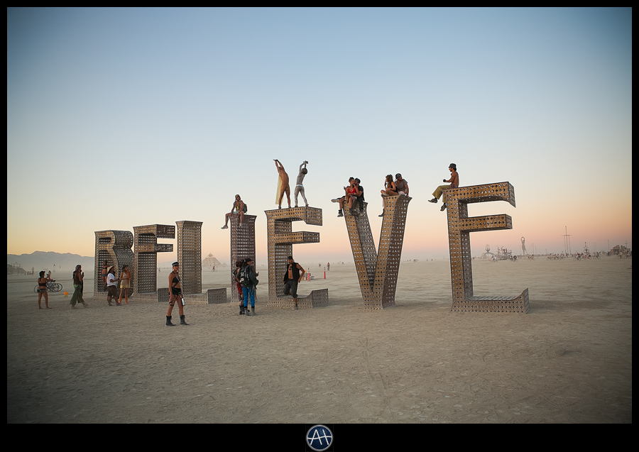 burning man believe