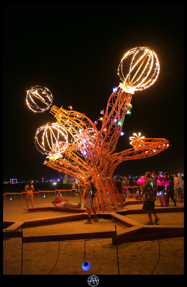 burning man night