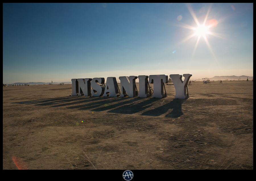 burning man insanity