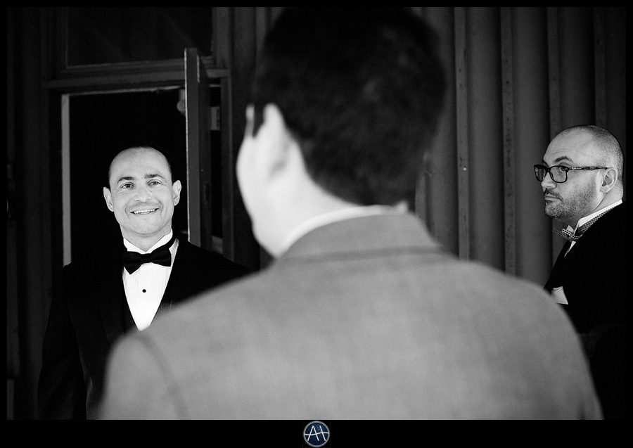 groom A Lovely Wedding in March
