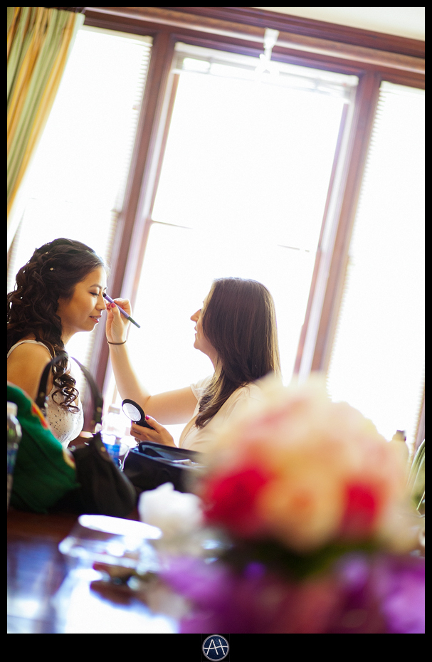 palo alto wedding make up