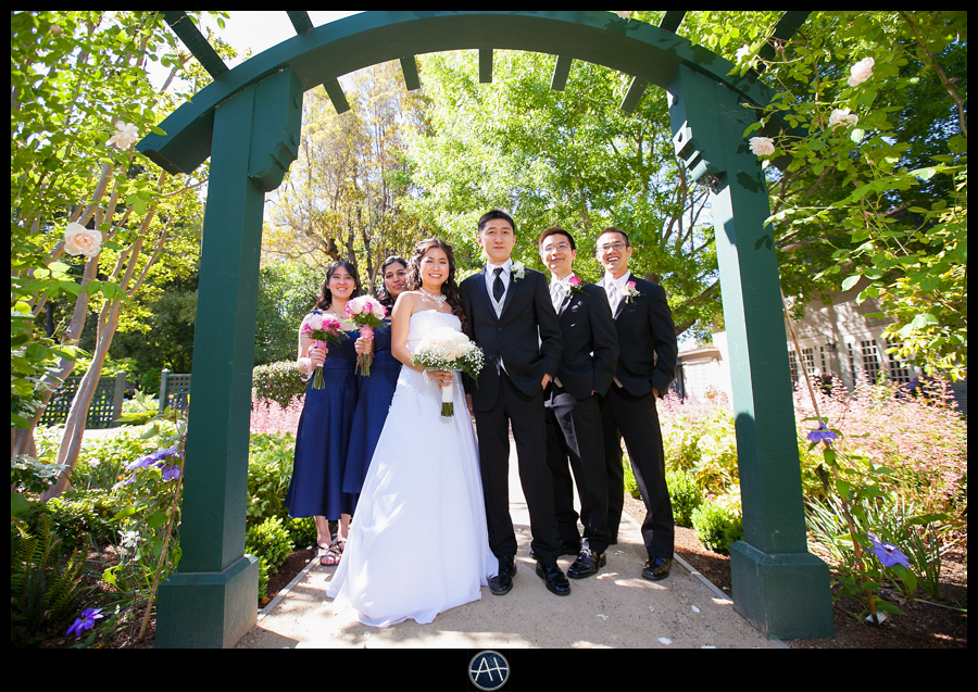 gamble gardens bridal party