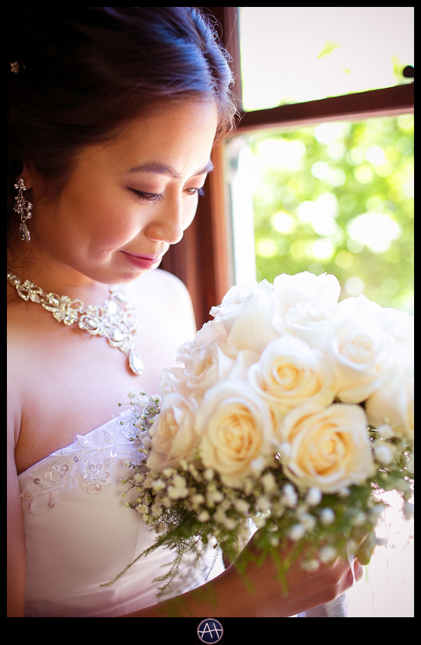 palo alto wedding bride bouquet