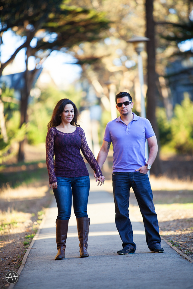 engagement session presidio loverslane