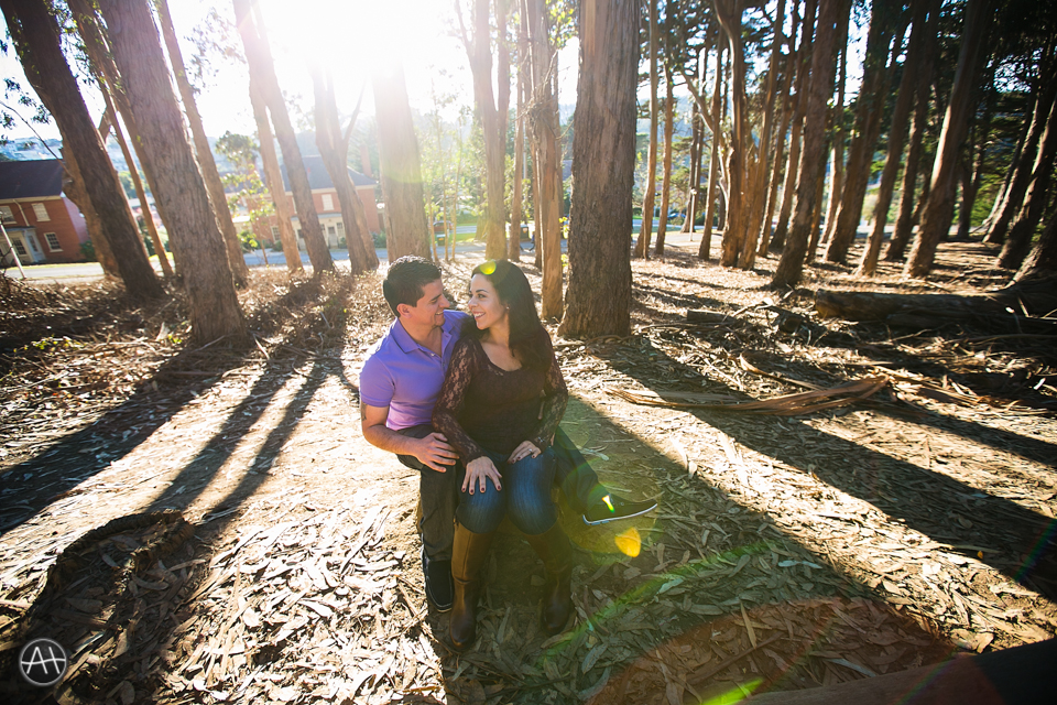 engagement session presidio