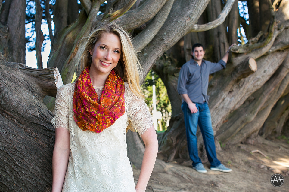 engagement session park sf