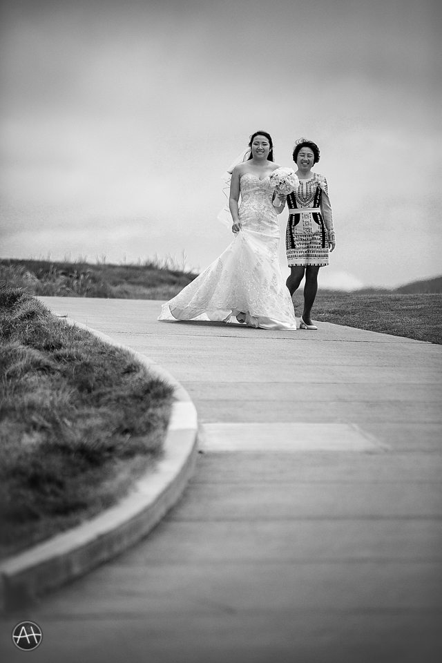 ritz carlton bride down aisle