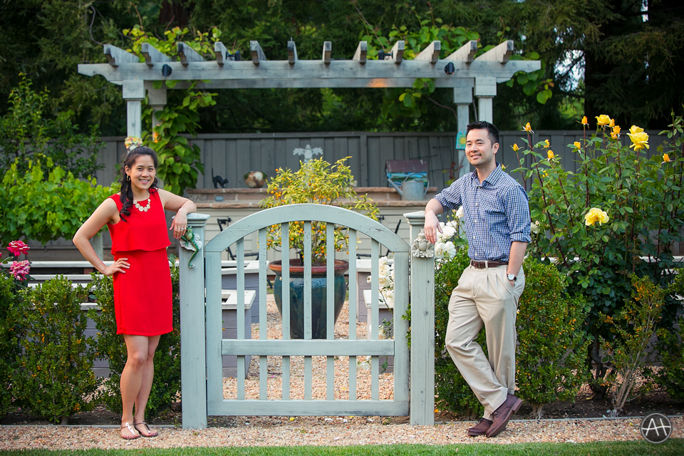 backyard garden esession
