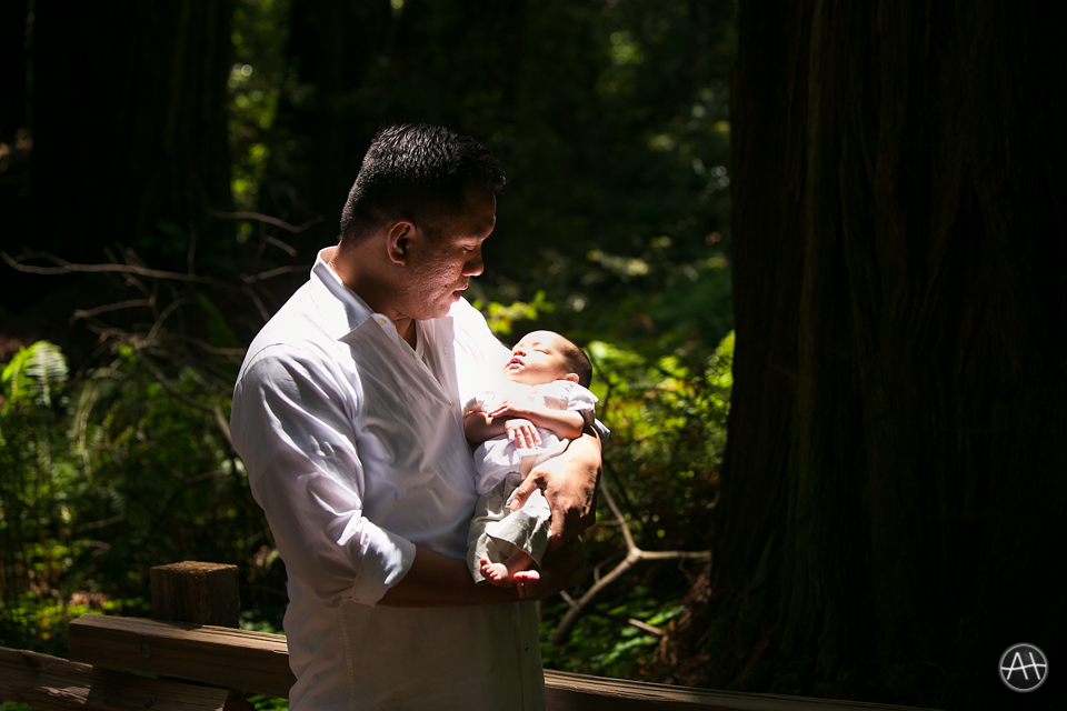 muir woods daddy newborn