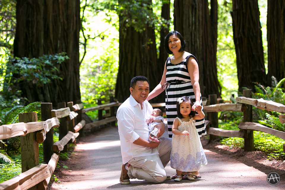 muir woods family photosession