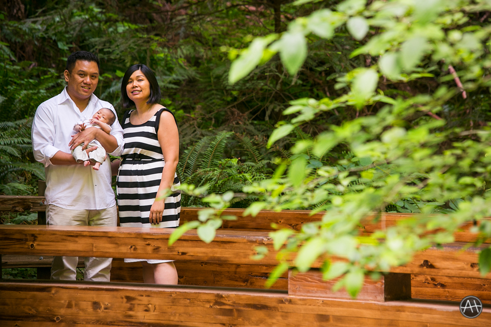 muir woods family portrait session