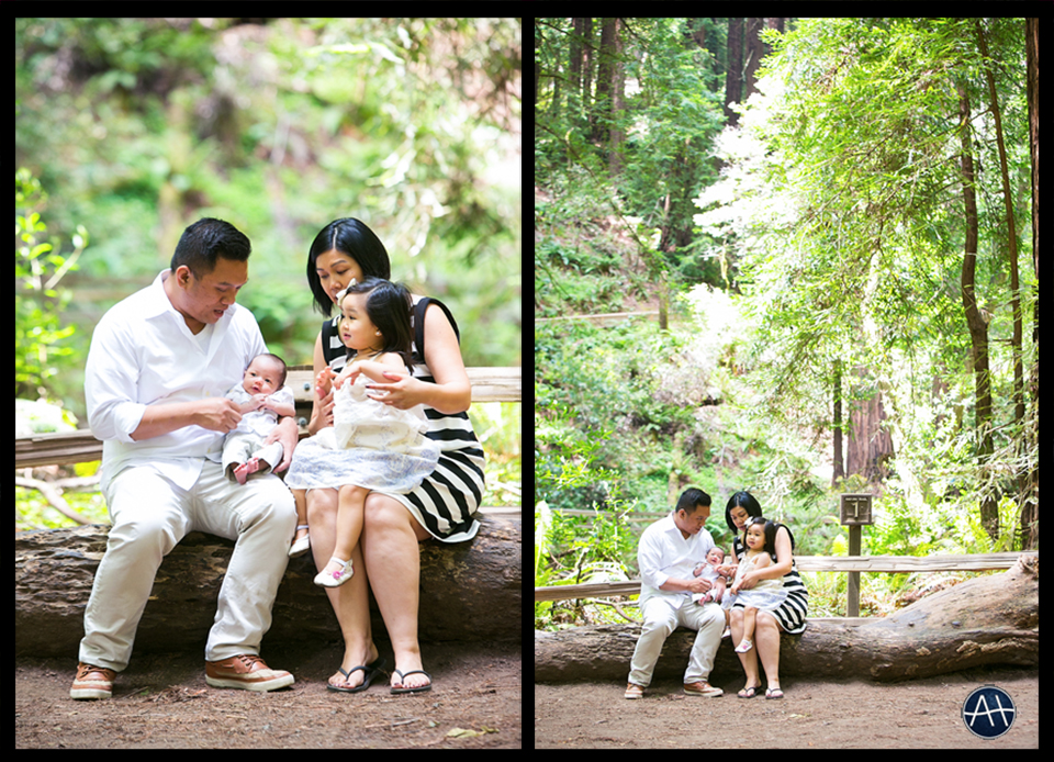 muir woods family picture