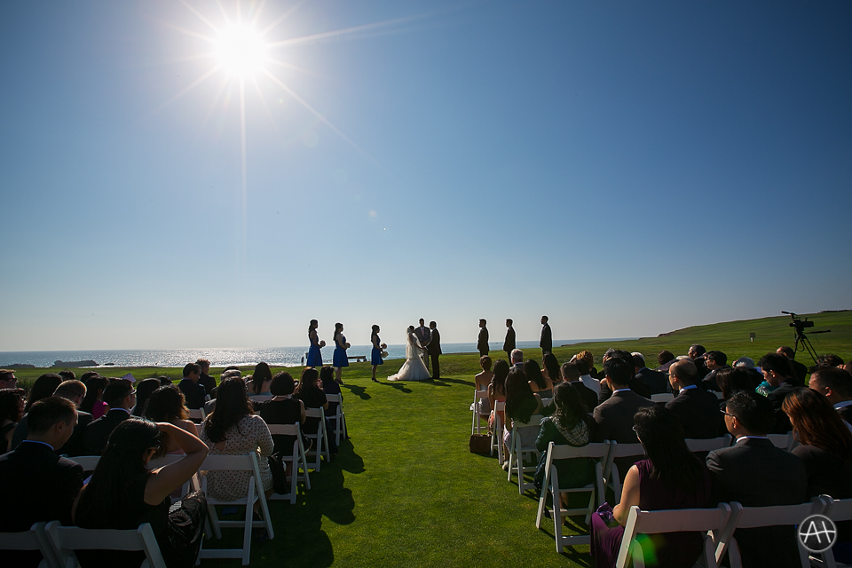 half moon bay ceremony wedding