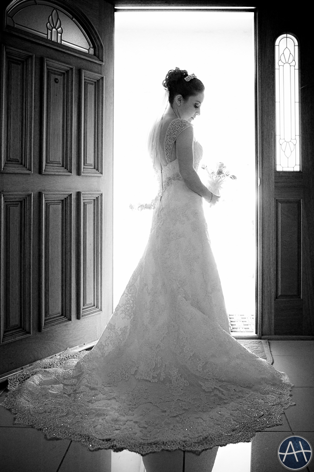 bride doorway