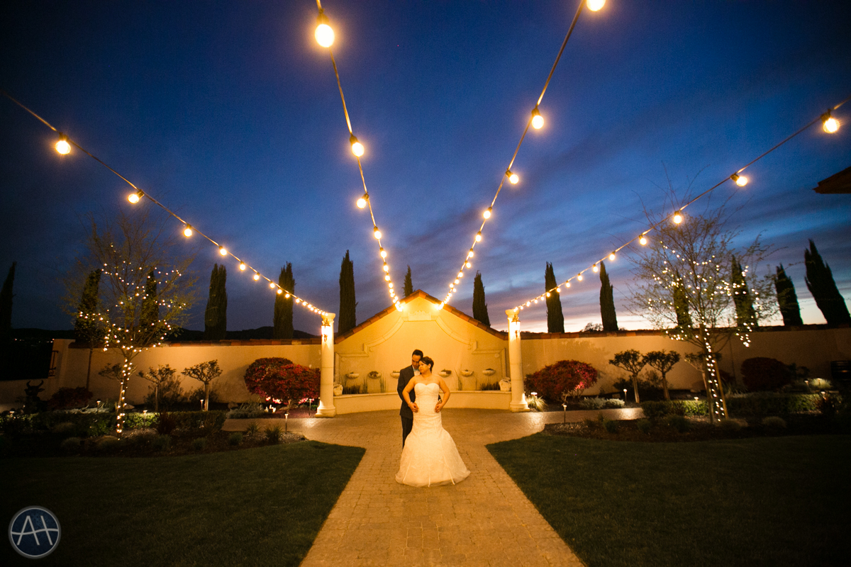 casa real wedding twilight photo