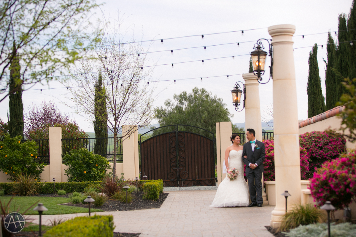 casa real wedding patio pleasanton