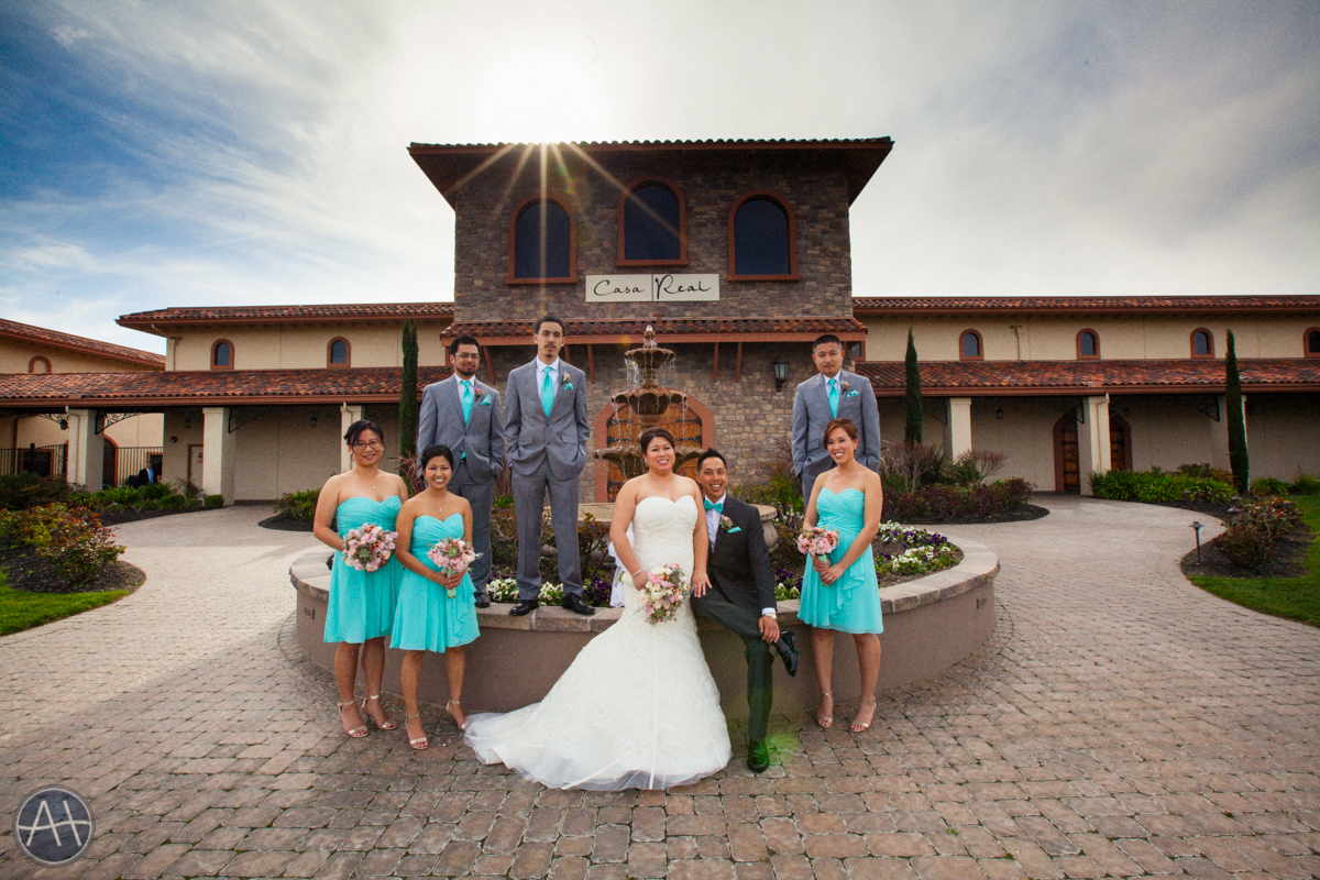 casa real ruby hill wedding