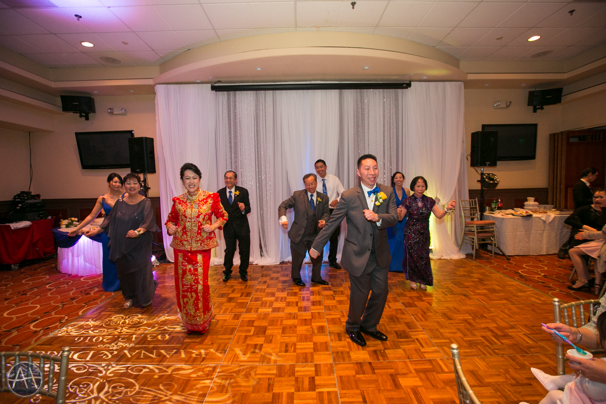 zen peninsula burlingame wedding banquet line dance