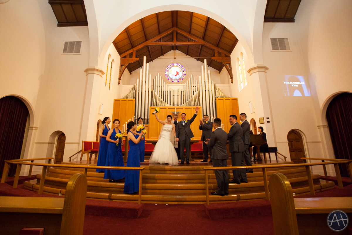 united methodist church burlingame wedding ceremony