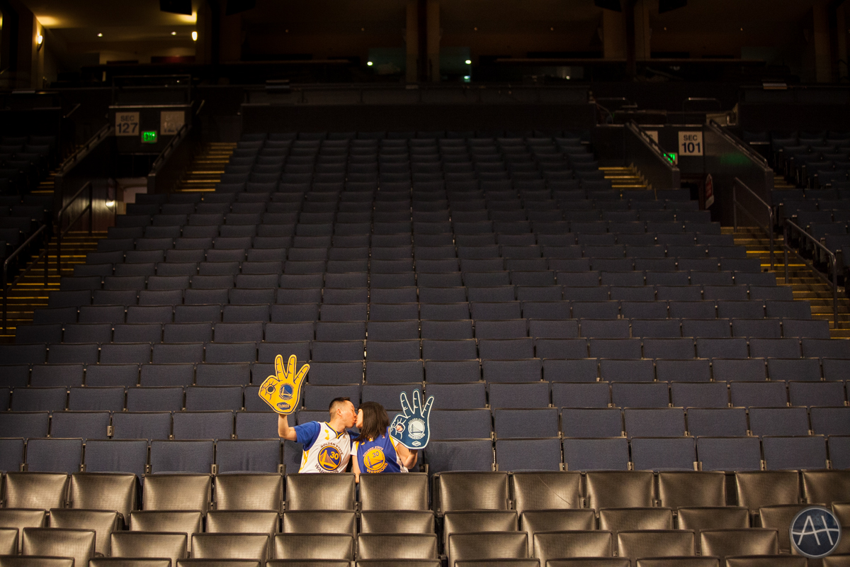 basketball photos engagement session photos warriors stadium oakland oracle arena