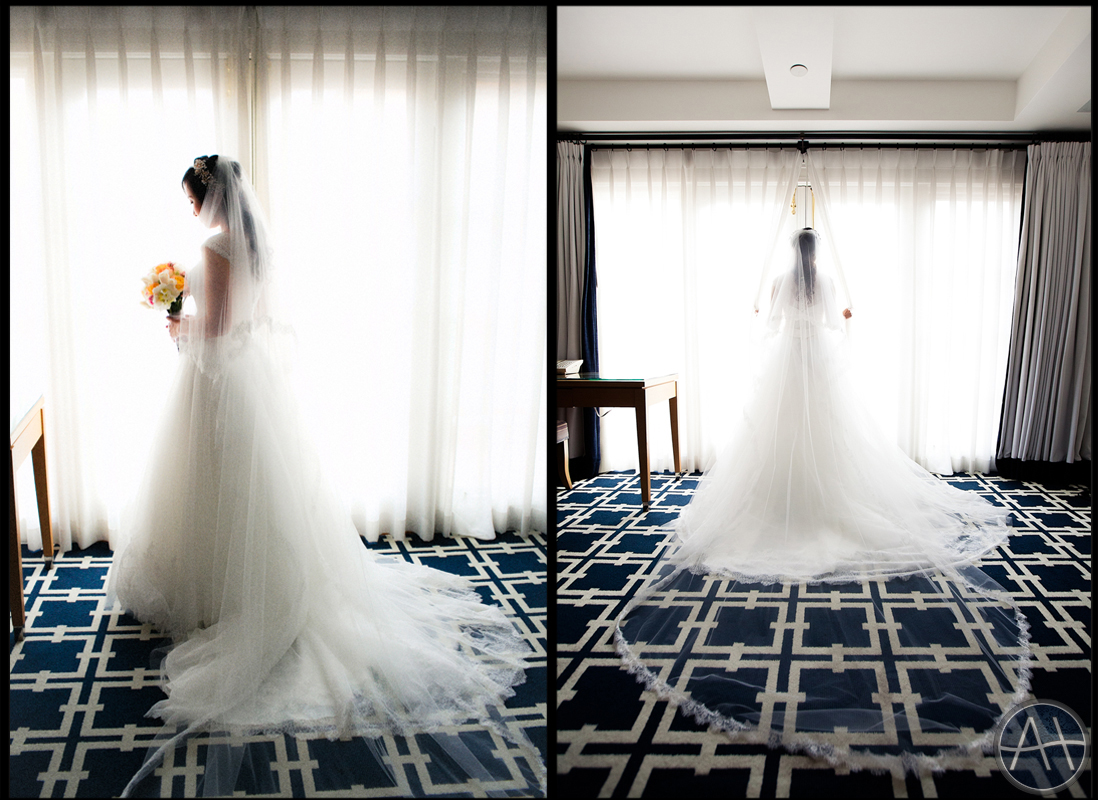 garden court hotel bride palo alto wedding