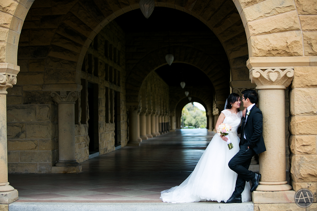 stanford wedding photo