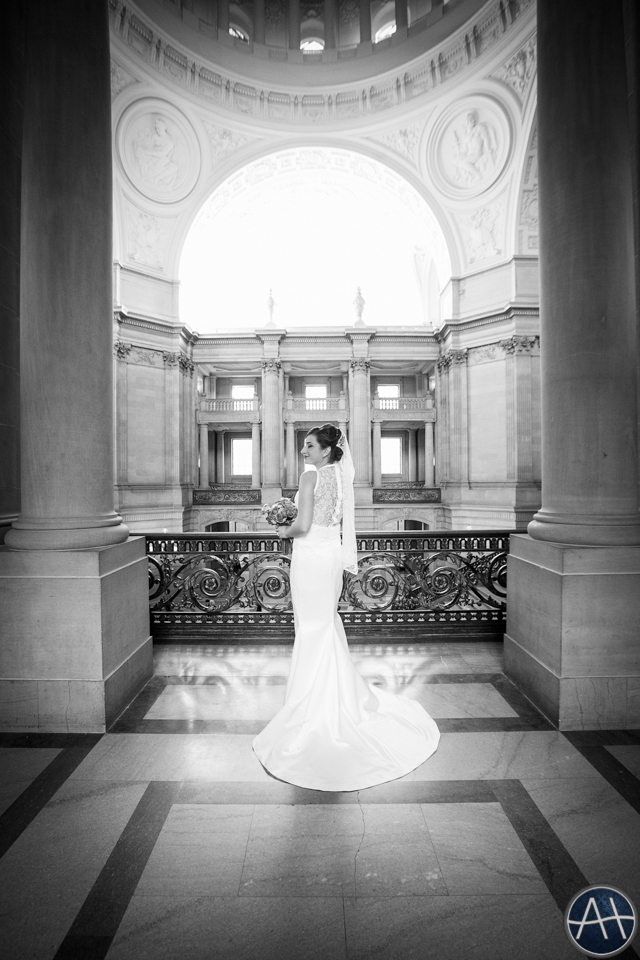 sf bride cityhall wedding